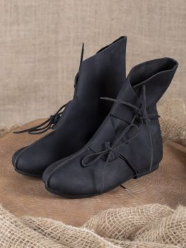 Bottines Vikings Haithabu en noir