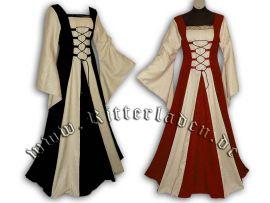 Robe de gente dame Fabienne jusqu'au 42 | rouge | jusqu'à 176 cm