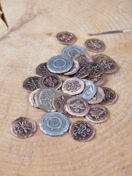 Pièces de monnaie GN Orc sans pochette en cuir