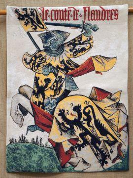 Tapisserie Comte de Flandres 95 x 70 cm