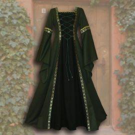 Robe Iris verte-noir 36 - 42