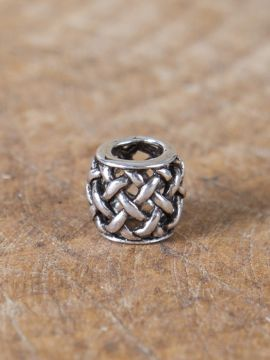 Perle Viking motif quadrillage à l'unité