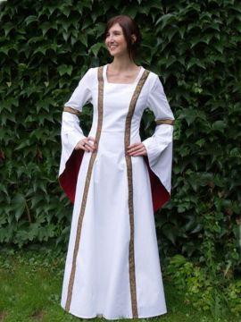 Robe médiévale de soirée L