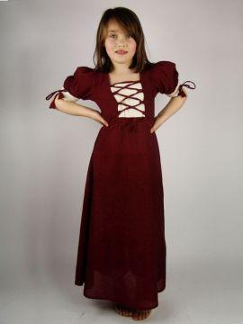 Robe rouge légère pour enfant XXXS