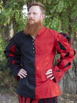 Pourpoint Lansquenet rouge et noir
